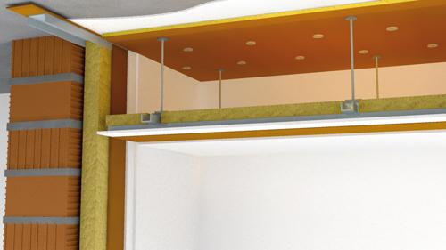 Система звукоизоляции потолка FT-2